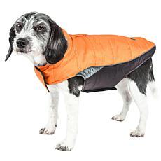 Helios Small Hurricane-Waded Plush Reflective Dog Coat