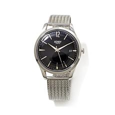 "Henry London ""Edgware"" Stainless Steel Bracelet Watch"