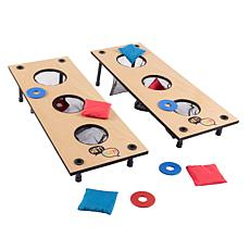 Hey! Play! 2-in-1 Washer Pitch and Beanbag Toss Set