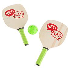 Hey! Play! Indoor/Outdoor Paddle Ball Game Set