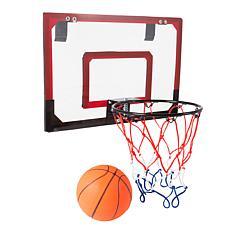 Hey! Play! Mini Basketball Hoop with Ball and Breakaway Spring Rim