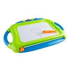 Hey! Play! Multicolor Magnetic Drawing Board with Pen, Eraser and 4...