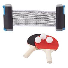 Hey! Play! Portable Instant Table Tennis Set with Retractable Net