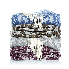 Highgate Manor Majestic Tassel Throw