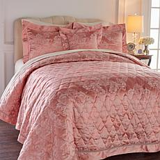 Highgate Manor Opulent 4-piece Coverlet Set