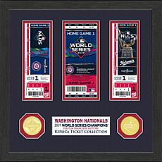 Highland Mint 2019 World Series Champions Ticket Collection