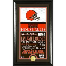 Highland Mint Cleveland Browns Jersey House Rules Supreme Photo Mint