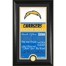 Highland Mint Los Angeles Chargers Jersey House Rules Photo Mint