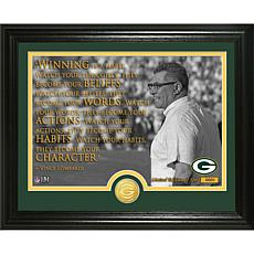 Highland Mint Vince Lombardi Quote Bronze Coin Photo Mint