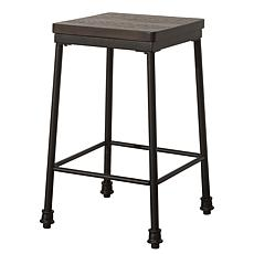 Hillsdale Furniture Castille Backless Counter Stool - Textured Black