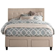 Hillsdale Furniture Duggan Front Storage Bed with Rails
