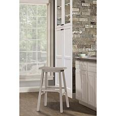 Hillsdale Furniture Moreno Backless Counter Stool - Distressed Gray