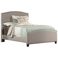 Hillsdale Kerstein Full Bed with Rails - Dove Gray