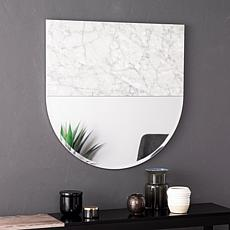 Holly & Martin Bowers Decorative Mirror - White