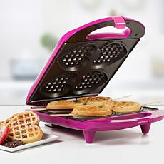 Holstein Fun Collection Heart-Shaped Waffle Maker