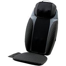 HoMedics 2in1 Shiatsu Massaging Seat Topper w Massage Pillow and Heat