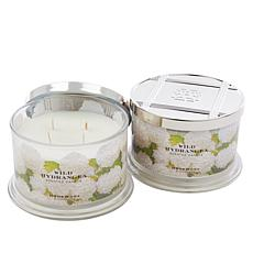 HomeWorx by Harry Slatkin 2-pack 4-Wick Candles - Wild Hydrangea