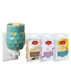 Honeycomb Plug-in Warmer with 3 Wax Melts