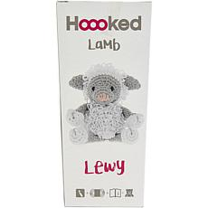 Hoooked Lamb Lewy Yarn Kit with Eco Brabante Yarn - White and Gray