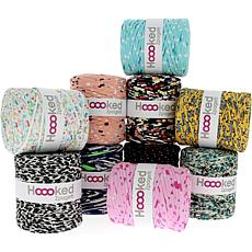 Hoooked Zpagetti Yarn Set 10/Skeins - Printmix