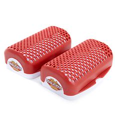 Hot Doglicious Set of 2 Microwaveable Hot Dog Cookers