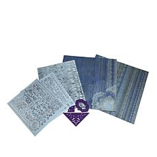 Hot Off The Press Indigo Lace Cutting Dies Papercraft Kit