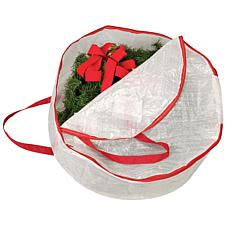 "Household Essentials 24"" Circular Wreath Bag"