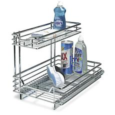 Household Essentials Under the Sink Sliding Organizer