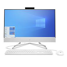 "HP 23.8"" Athlon Gold 4GB RAM 512GB SSD PC with Keyboard and Mouse"