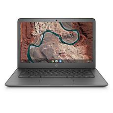 "HP Chromebook 14"" Dual-Core AMD A4 4GB RAM, 32GB eMMC Laptop - Gray"