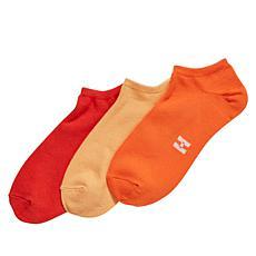 HUE Color Mood 3pk Super Soft No-Show Socks