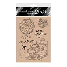 Hunkydory Crafts For the Love of Stamps -Around the Globe A6 Stamp Set
