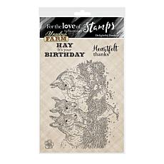 Hunkydory Crafts For the Love of Stamps - Delightful Donkey A6 Set