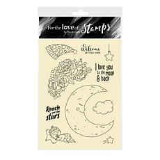 Hunkydory Crafts For the Love of Stamps Love You to the Moon A6 Stamps