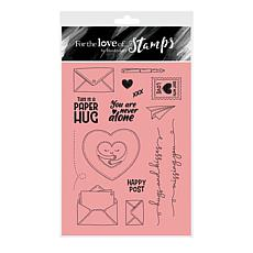 Hunkydory Crafts For the Love of Stamps - Paper Hugs A6 Stamp Set