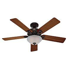 "Hunter 52"" Astoria New Bronze LED Light Kit & Pull Chain Ceiling Fan"