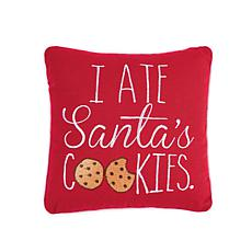 I Ate Santa's Cookies Pillow
