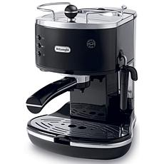 Icona 15-Bar Pump Driven Espresso/Cappuccino Maker - Black