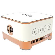 IDeaPLAY Wireless Mini Smart Projector with Built-In Speakers & Remote
