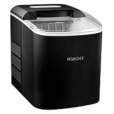 Igloo 26 lb. Automatic Ice Cube Maker in Black