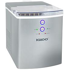 Igloo 33 lb. Automatic Portable Countertop Ice Maker Machine - Silver