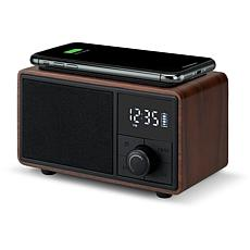 iLive Bluetooth Clock Radio with Wireless Charging