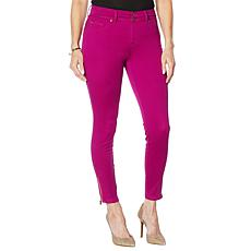IMAN City Chic 360 Slim Skinny Jean with Ankle Zipper