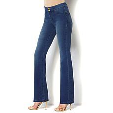 IMAN Global Chic 360 Luxury Denim Bootcut Jean