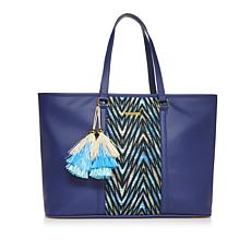 IMAN Global Chic Luxury Resort Getaway Handbag