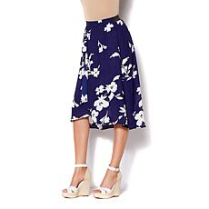 IMAN Global Chic Luxury Resort Swing Skirt