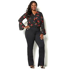 IMAN Perfect Fit 360 Curve Appeal Premium Denim Trouser Jean
