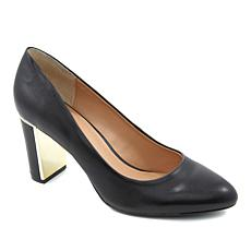 IMAN Platinum Genuine Leather Power Pump with Comfort Insole