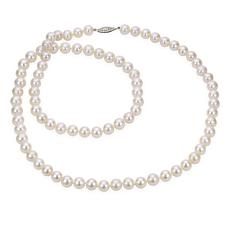 """Imperial Pearls 30"""" 14K 8.5-9.5mm Cultured Freshwater Pearl Necklace"""