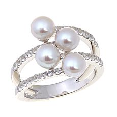Imperial Pearls 5-6mm Cultured Pearl Coil Ring